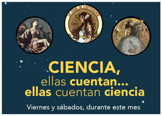 Con A de Astrónomas - Ellas cuentan la Ciencia