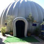 Planetario de Trujillo instalado en la Ciudad de los Niños de Córdoba