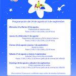 Programación de sesiones del Planetario en Córdoba